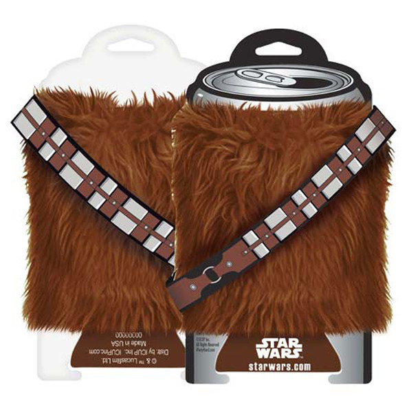 Furry Chewbacca Koozie For Keeping Your Drinks Chilled