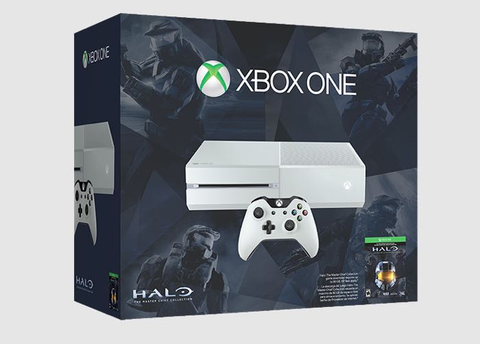 White Xbox One Halo Special Edition Launched In US