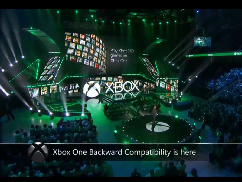 Xbox One Can Now Play Xbox 360 games