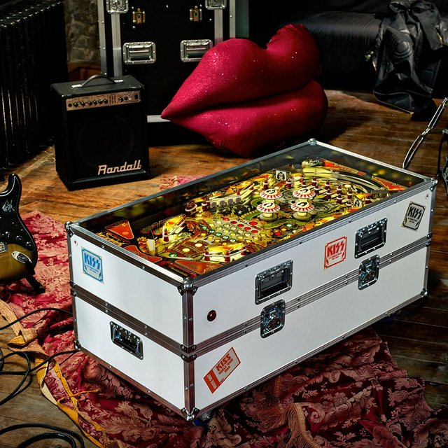 Kiss Pinball Coffee Table
