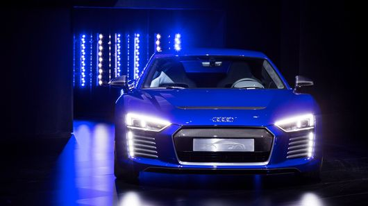 Audi Unveils An Electric Car