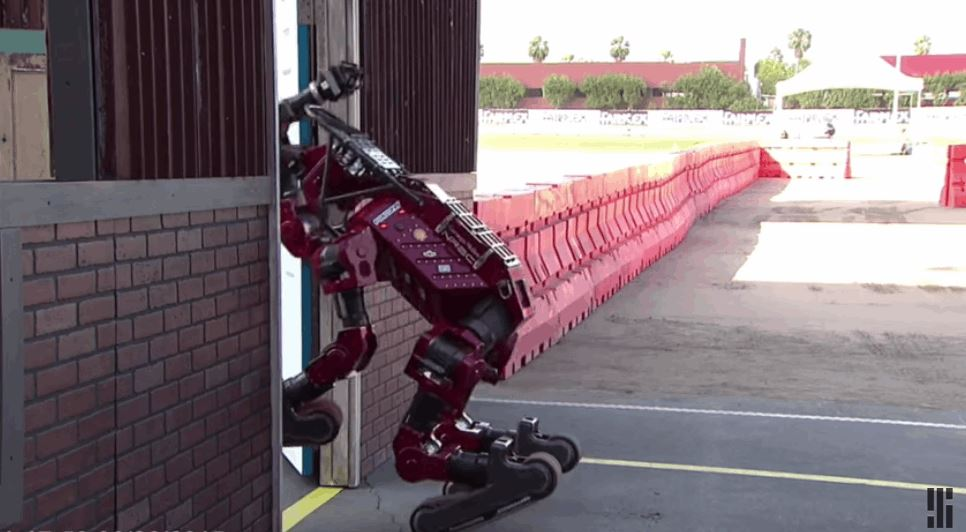 Compilation Of Robots Falling Down is Surprisingly Satisfying