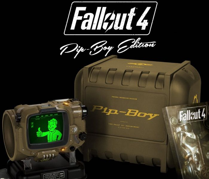 Fallout 4 Pip-Boy Edition Comes With Real Smartphone Operated Pip-Boy
