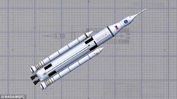 NASA's Biggest Rocket ForMars