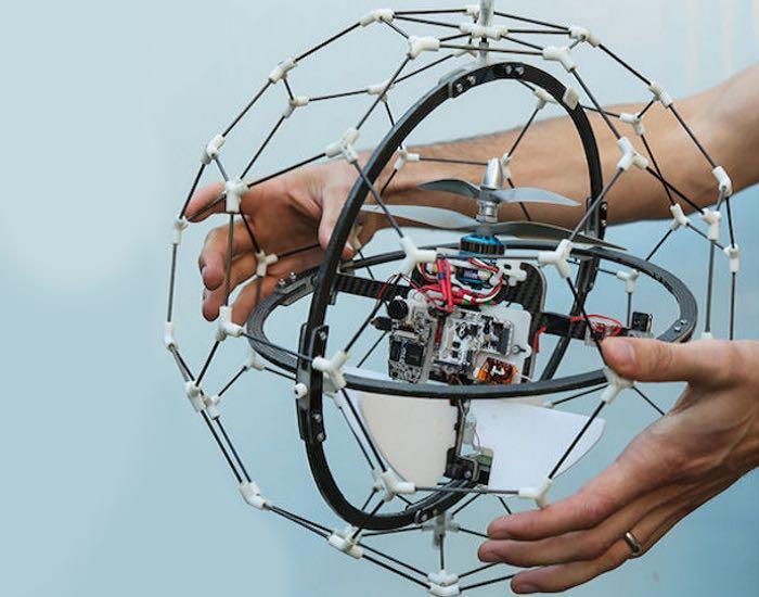 Spherical Flying Drone