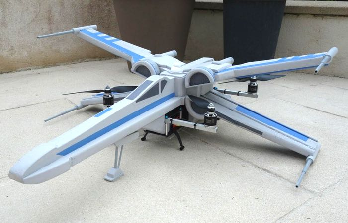 Custom Made Star Wars T-70 X-Wing Drone