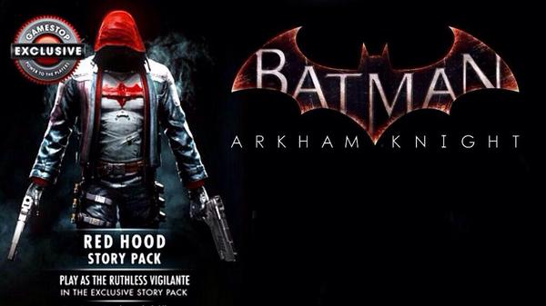 Batman: Arkham Knight Red Hood