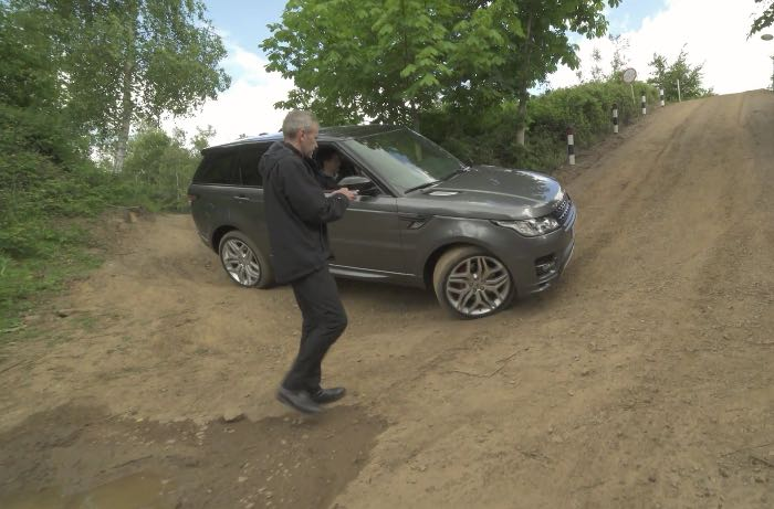 Range Rover Sport Can Be Driven With Your Smartphone