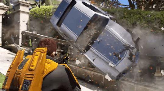 GTA 5 Mods Add Half-Life Gravity Gun and HEV Suit
