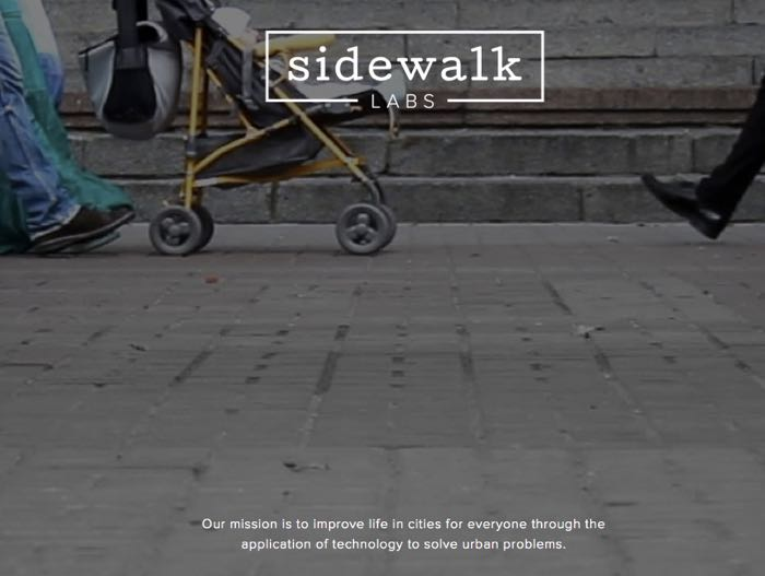 Google Announces Sidewalk Labs