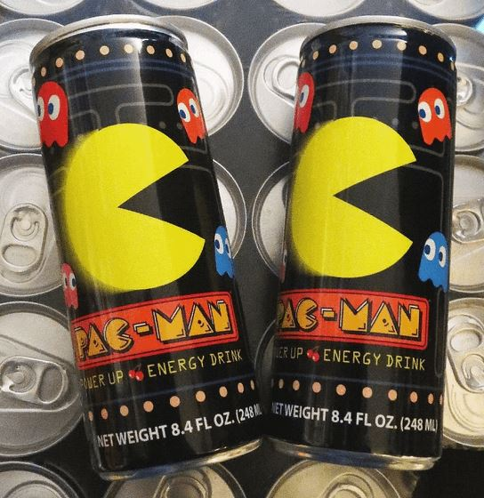 Pac-Man Power Up Energy Drink
