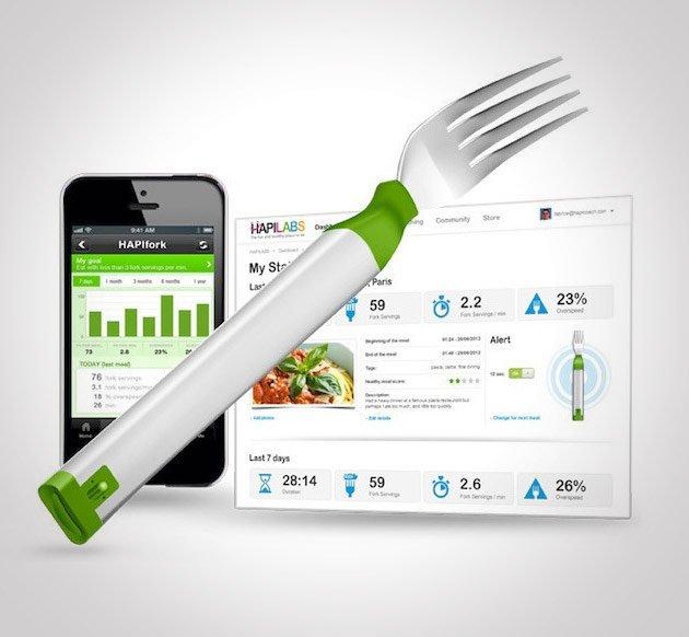 HAPIfork Bluetooth Enabled Smart Fork
