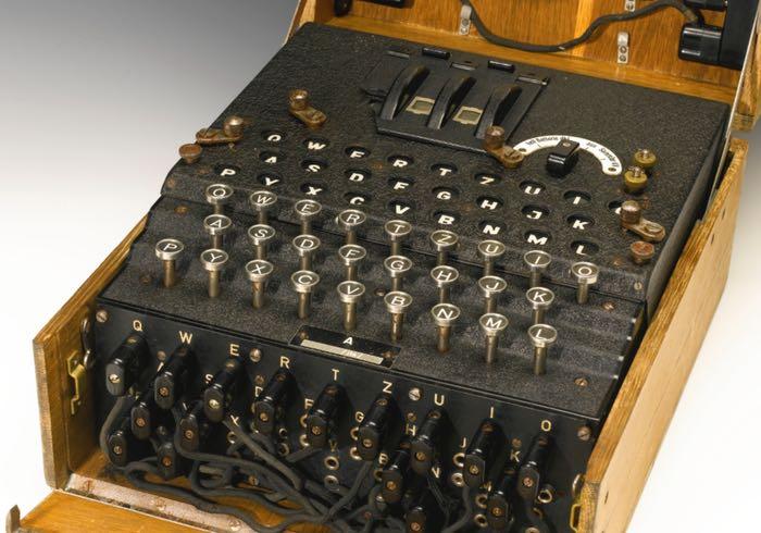 Rare Enigma Coding Machine Auctioned