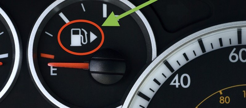 Ever Wondered What This Arrow Next To Your Car's Fuel Meter Means?