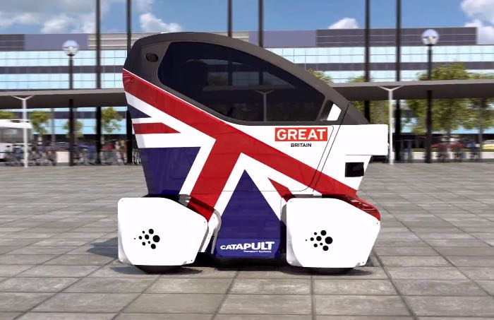 Self Driving Cars In The UK