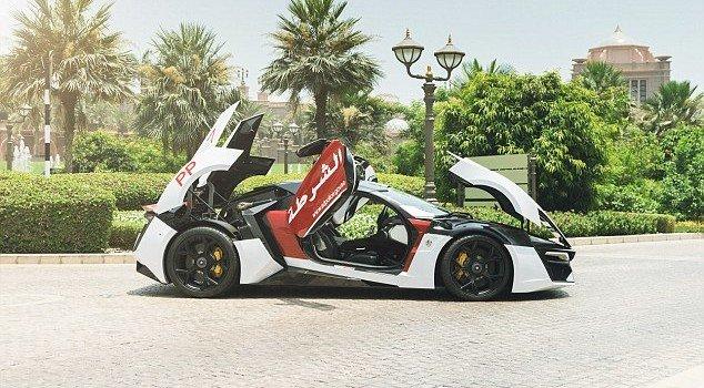 Abu Dhabi's New Police Car