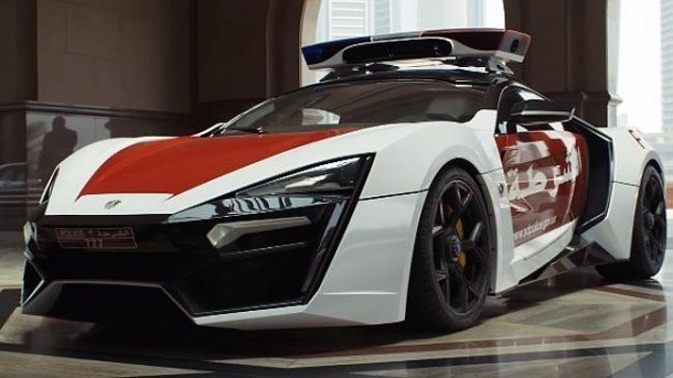 Abu Dhabi's New Police Car