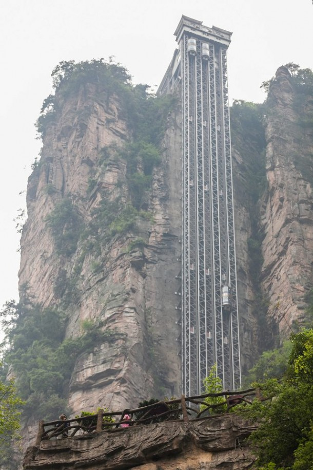 The World's Longest Outdoor Elevator