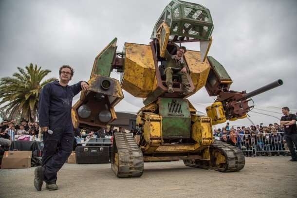 NASA Teams Up With Megabots to Save Them From Japanese