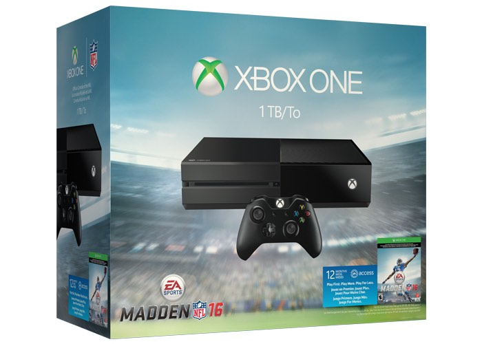 Xbox One EA Madden NFL 16 Bundle Launched