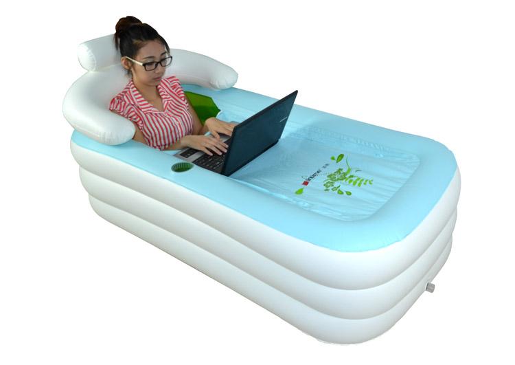 The Inflatable Bathtub