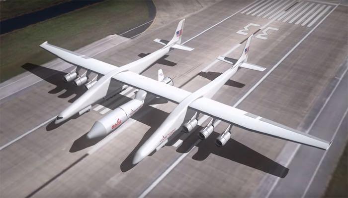 Paul Allen's Stratolaunch Plane