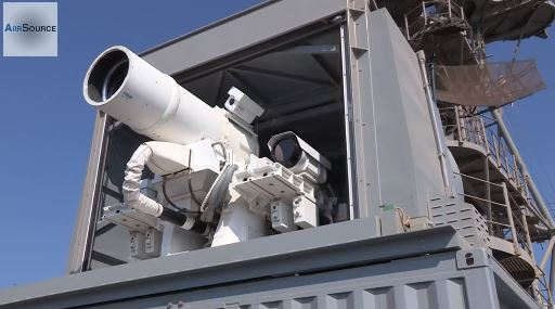 US Navy's New Killer Laser Gun Destroying Drones