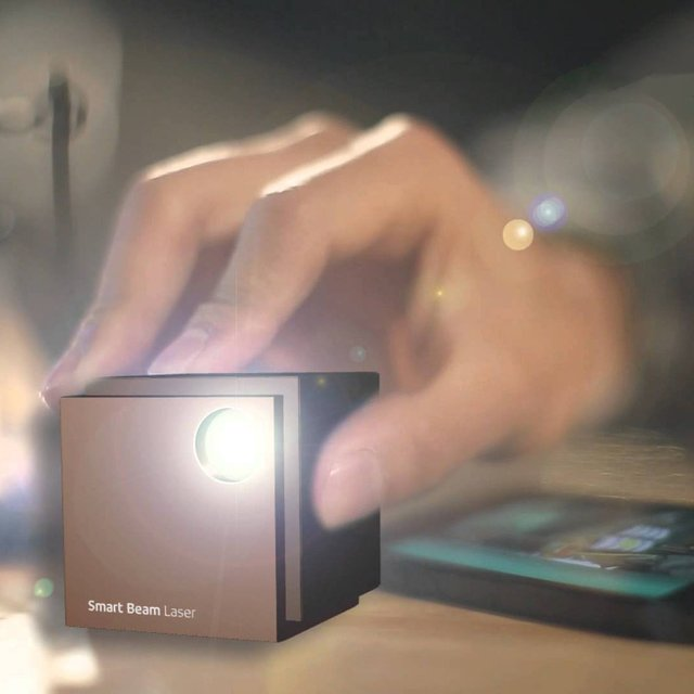 World's Smallest HD Laser Projector