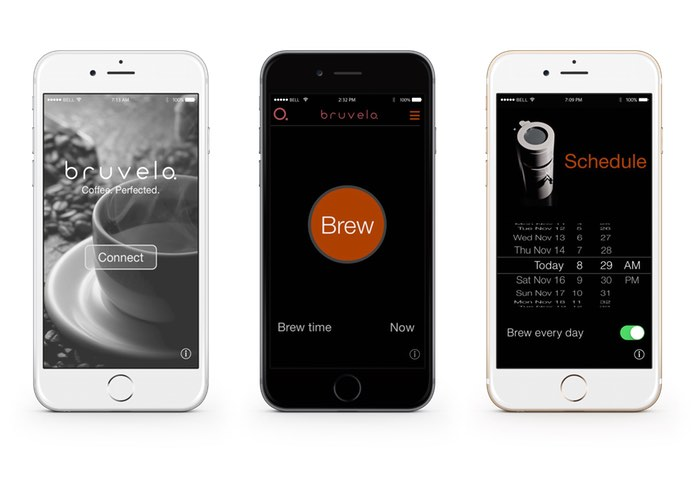 Bruvelo Smartphone Controlled Coffee Machine