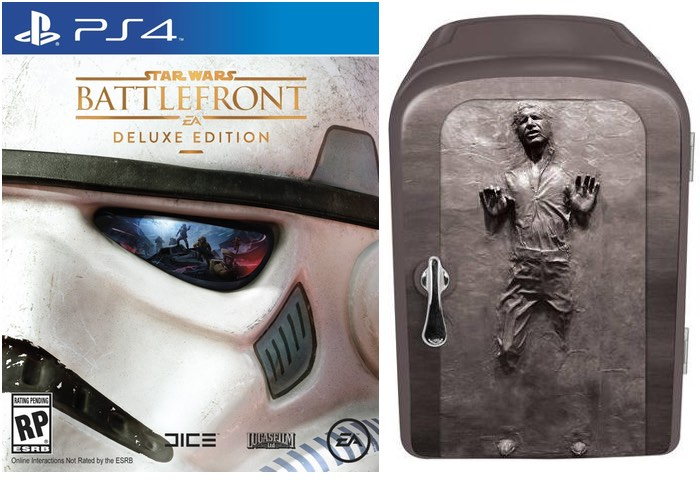 Star Wars Battlefront Deluxe Edition With Han Solo Fridge