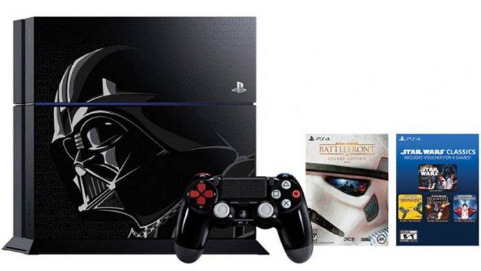 Darth Vader Themed PS4