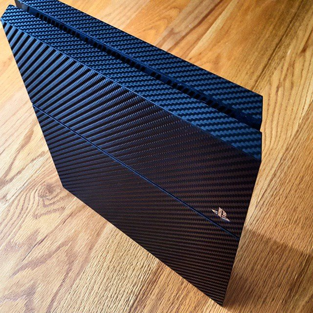 Carbon Fiber Series Wraps/Skins For Playstation 4