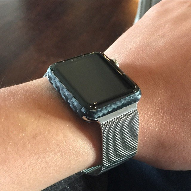 Carbon Series Apple Watch Wrap