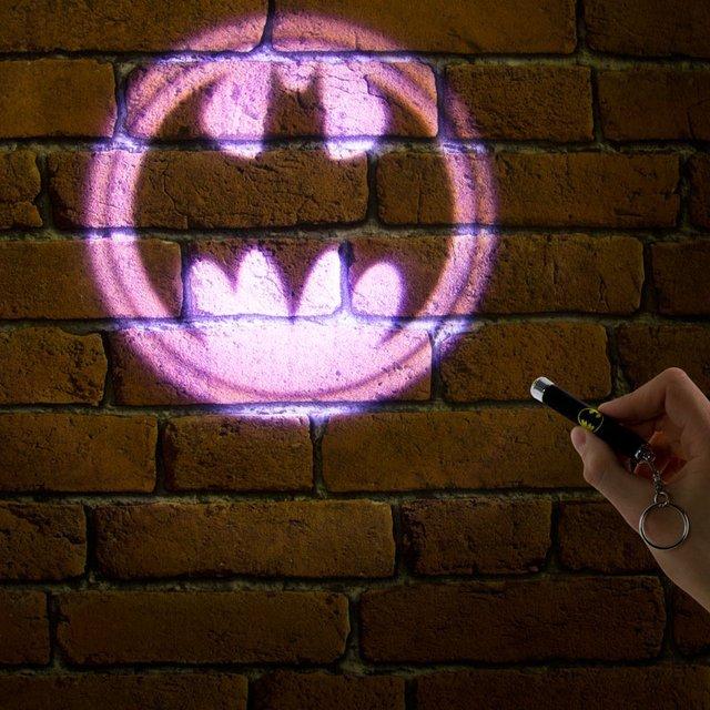 Bat-Signal Key Chain