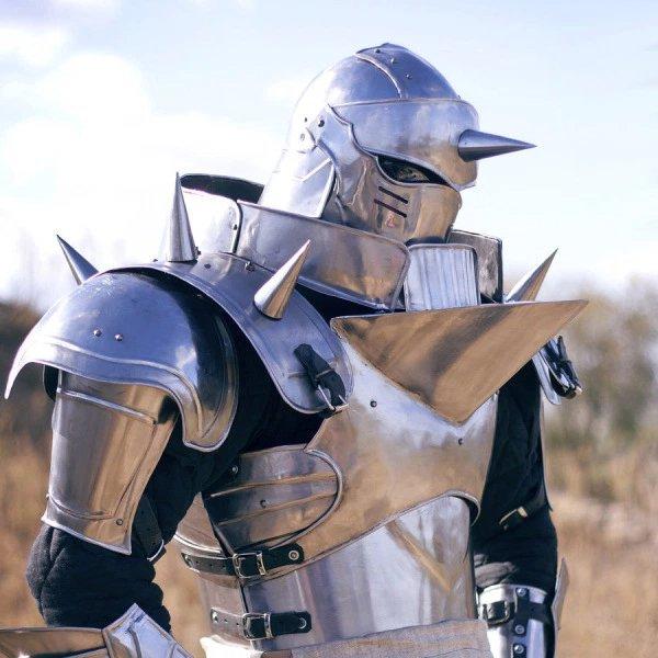 Alphonse Elric Steel Armor