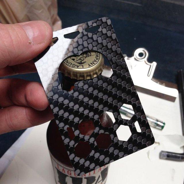 Billetus Carbon Fiber Bottle Opener