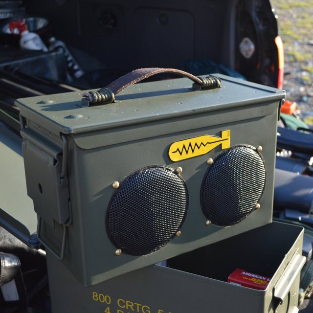 BomberBox All Weather Portable Speaker