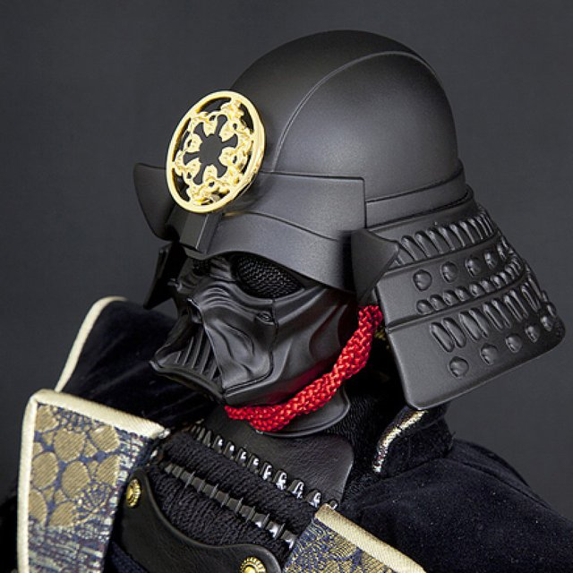Darth Vader Samurai Warrior Action Figure