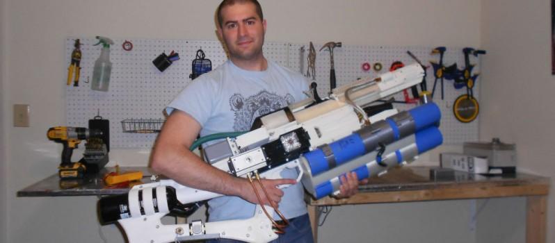 3D Printed Railgun