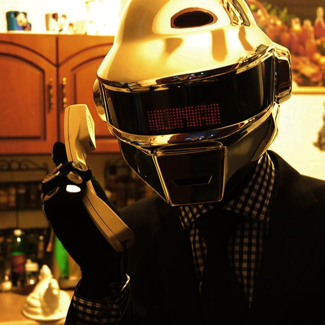 Daft Punk Thomas Helmet Complete Outfit