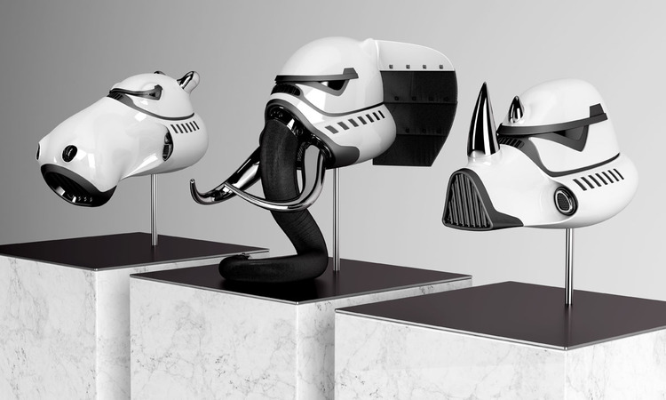 Cool Stormtrooper Helmets