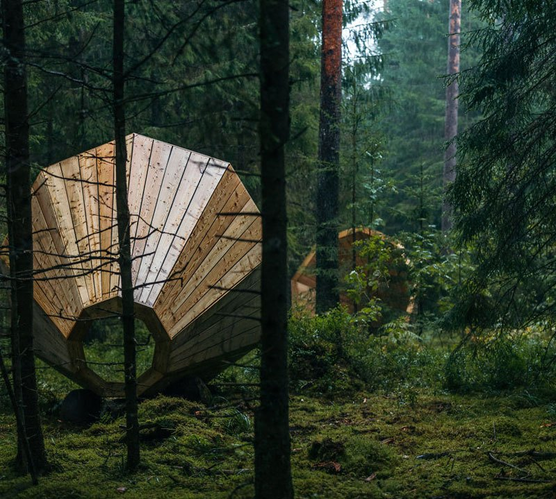 Giant Megaphones Installed in the Woods So You Can Hear The Forest