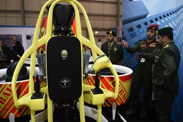 Jetpacks Will Be Provided To Dubai's Firefighters