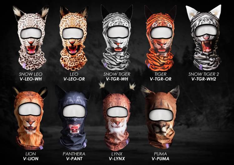 Animal Themed Ski Masks
