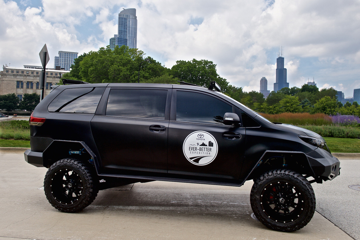 Toyota's Ultimate Utility Vehicle