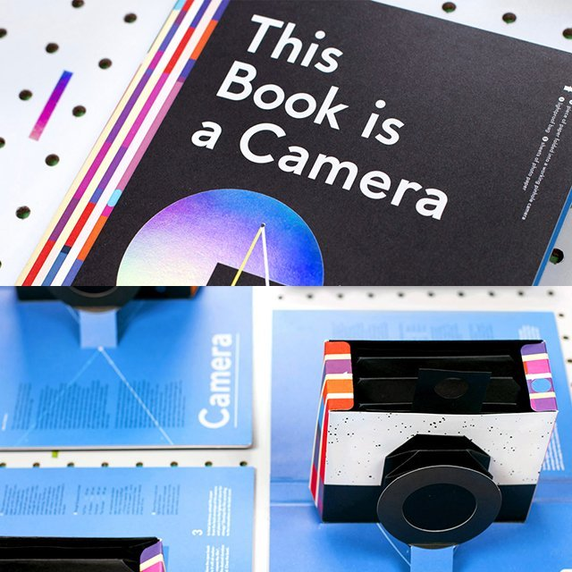 This Book is a Camera, Really!
