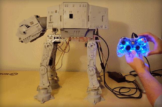 Star Wars AT-AT Walker Comes To Life