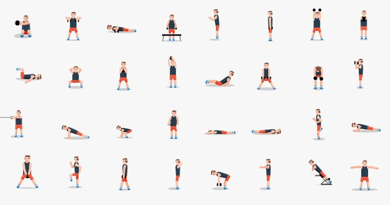 48 Exercises in One Awesome GIF