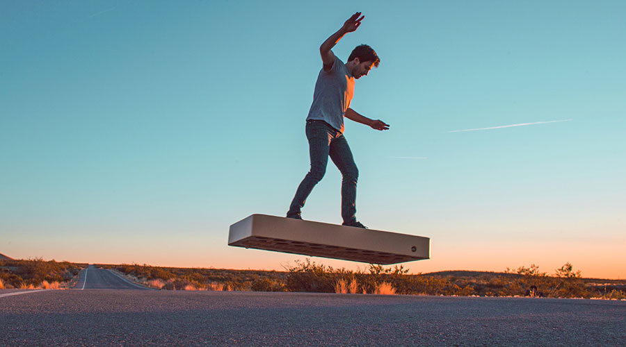 Arca Space's hoverboard