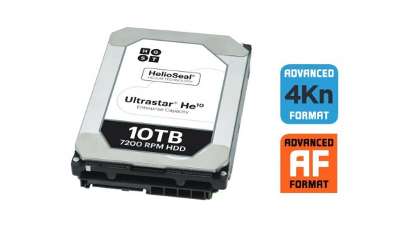 Western Digital 10TB Helium-Filled HD Unveiled